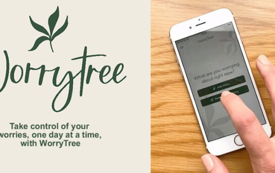 WorryTree is featured on the NHS Apps Library