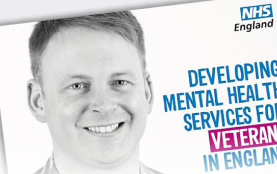 Veterans: NHS mental health services